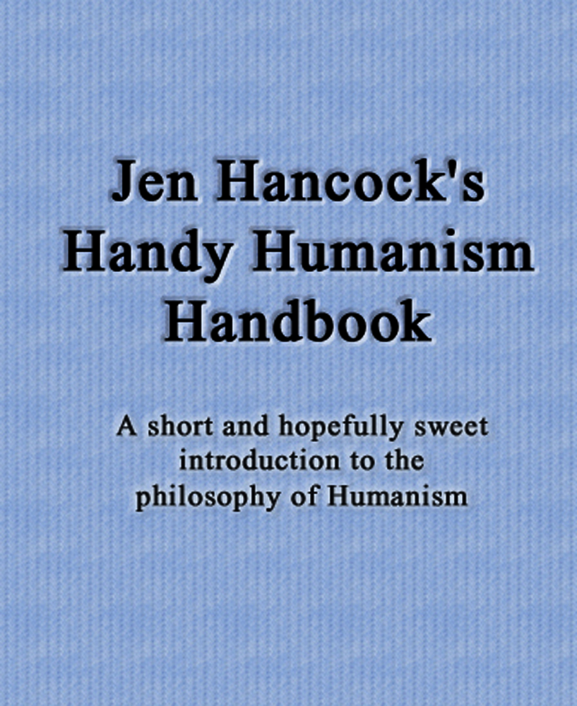 Jen's Humanism Handbook cover art