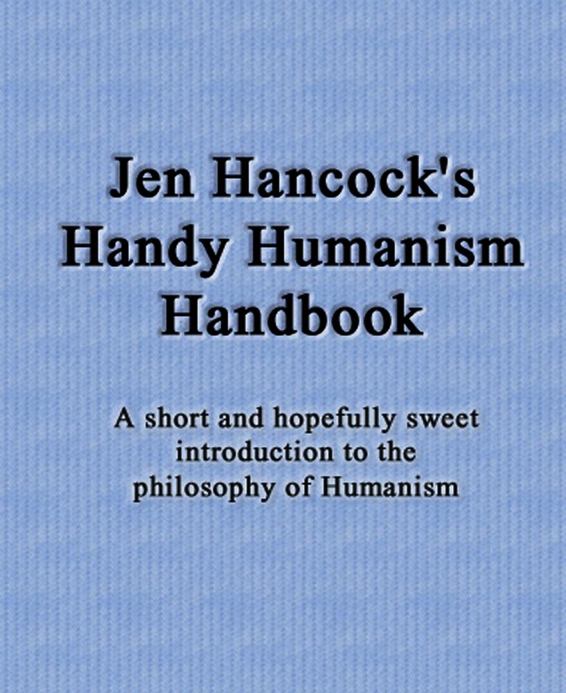Jen's Humanism Handbook cover art
