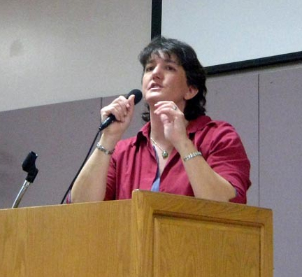Jennifer Hancock is a great speaker